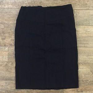 NWOT Rampage black pencil skirt